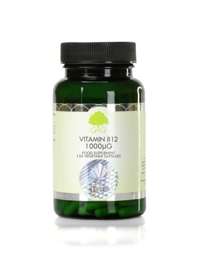 G&G VITAMINS B12 METHYLCOBALAMIN 1000MCG 120 VEG. KAPSELN