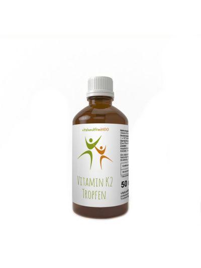 Vitalundfitmit100 Vitamin K2 Tropfen 50 ml