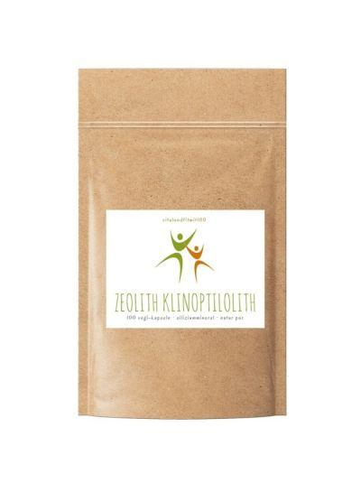 Vitalundfitmit100 Zeolith Klinoptilolith (Naturzeolith) 100 Vegi-Kapseln à 500 mg